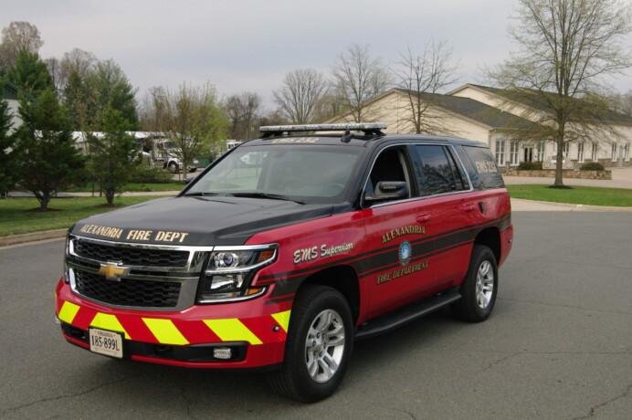 Alexandria Fire Department Tahoe EMS