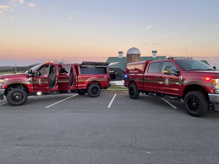 Hamilton Township Fire Command Pick-ups (2)