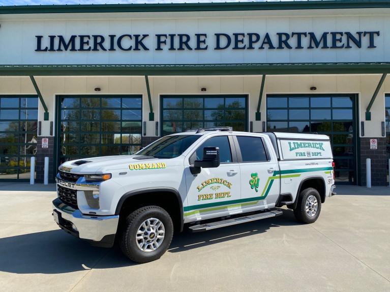 Limerick Fire Silverado Command Pick-up