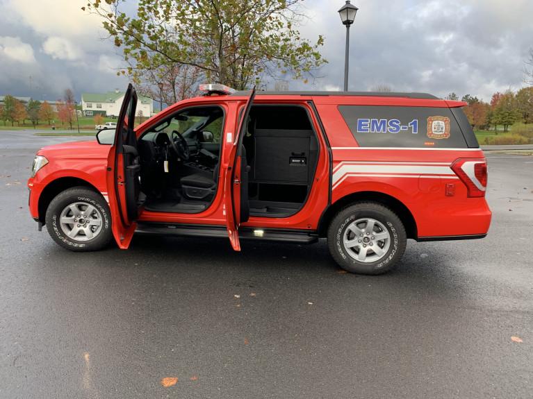 Hampton FD Expedition EMS Response