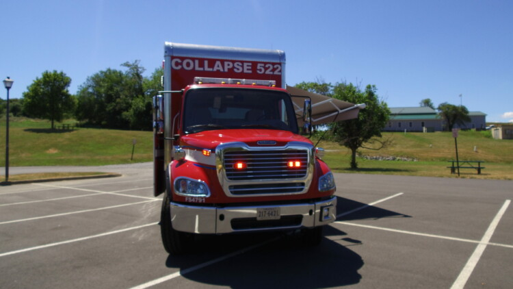 Prince William County Freightliner Collapse Rescue