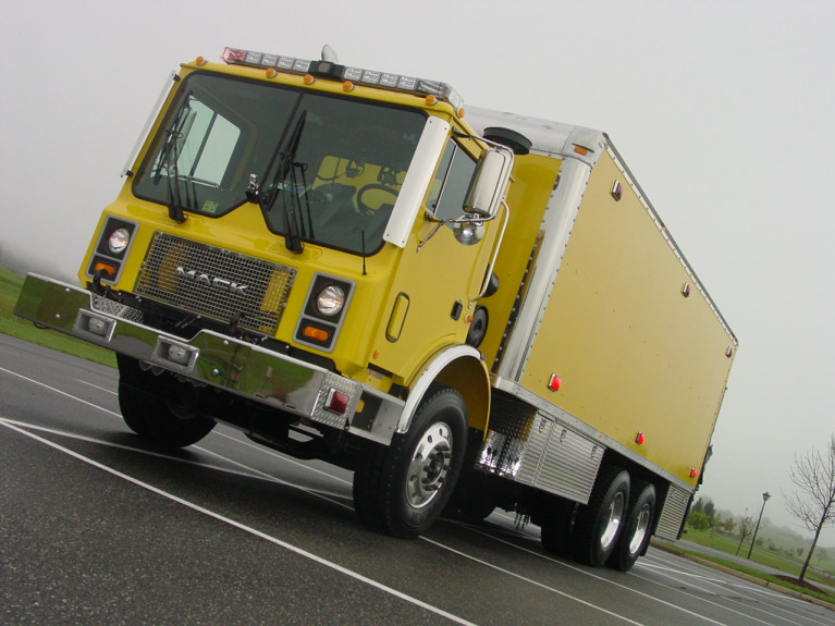 OWL Mack Cab-Over Collapse Rescue Truck